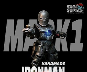 Marvel Handmade Ironman Clay