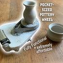 Pocket Sized Pottery Wheel