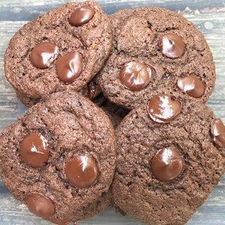 Whole Wheat Jaggery Chocolate Cookies