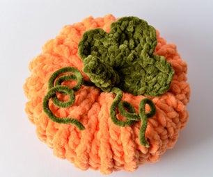 Crochet Pumpkin Home Décor