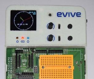 Alarm Clock With Evive (Arduino Powered Embedded Platform)