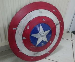 Foam Captain America Shield
