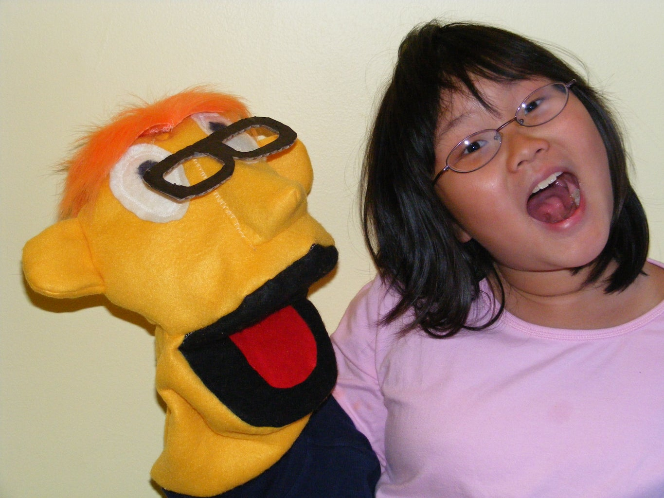 Muppet-style Puppet