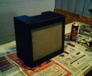 Making a Speaker Baffle for a Guitar Amplifier