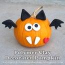 Polymer Clay Decorated Pumpkin