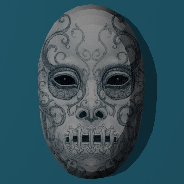 Harry Potter Papercraft Death Eater Masks