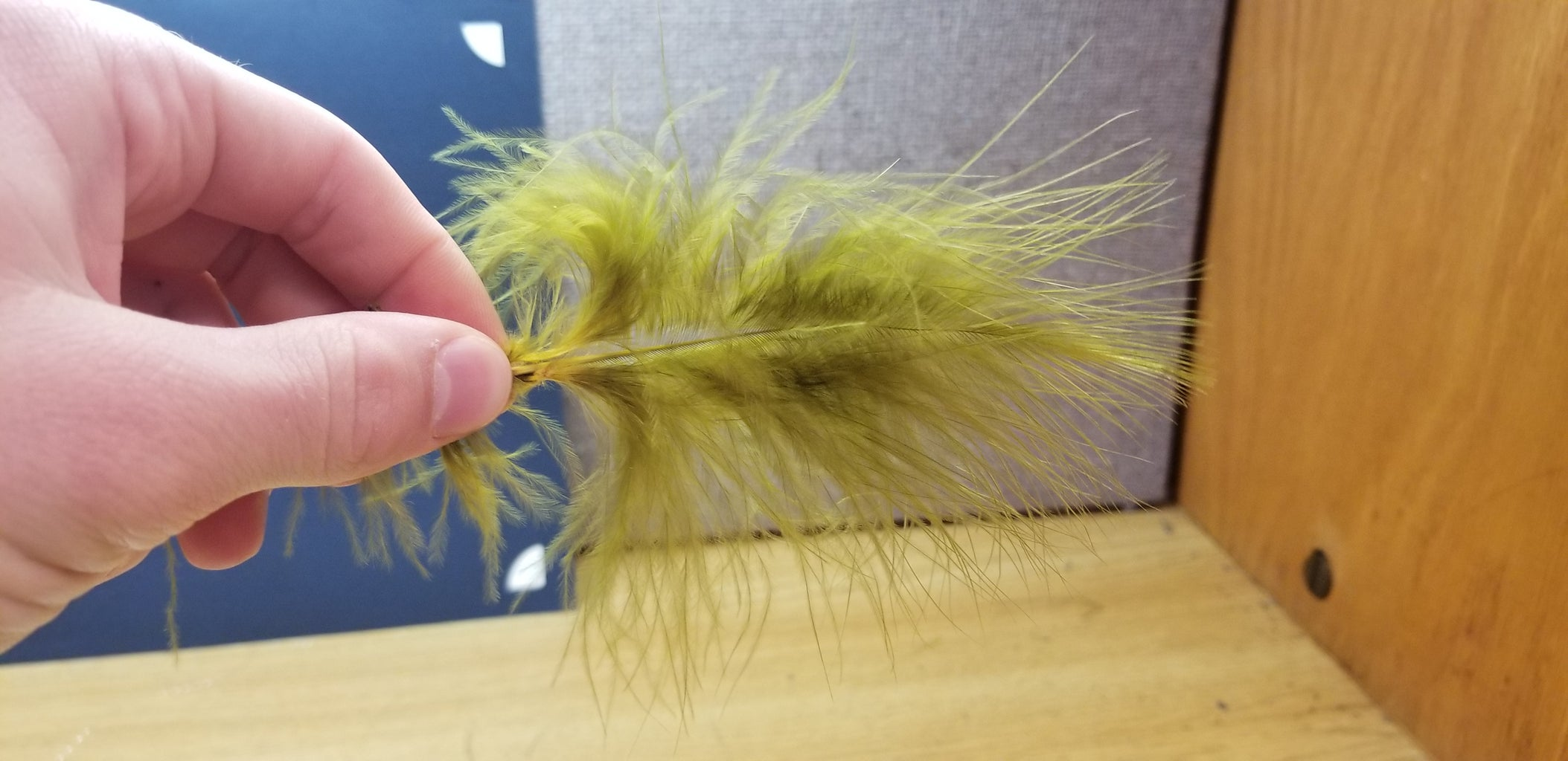 Picking Your Marabou