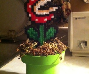 How to Make a Piranha Plant With a Tube