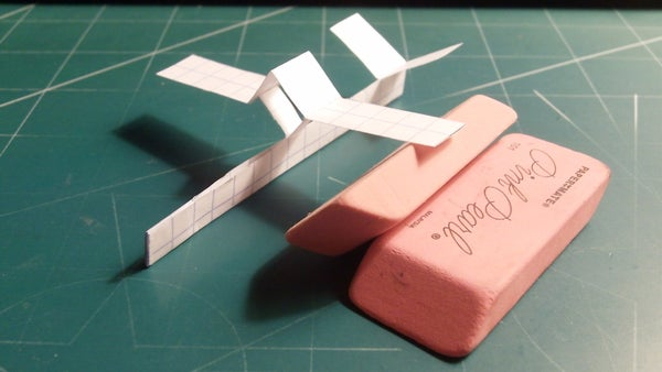 How to Make the Scout Paper Airplane