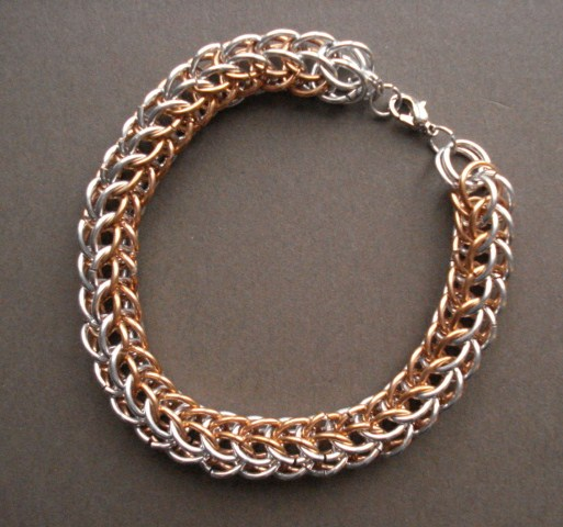 Really Easy Way to Start and Make the Full Persian Chain Mail Weave