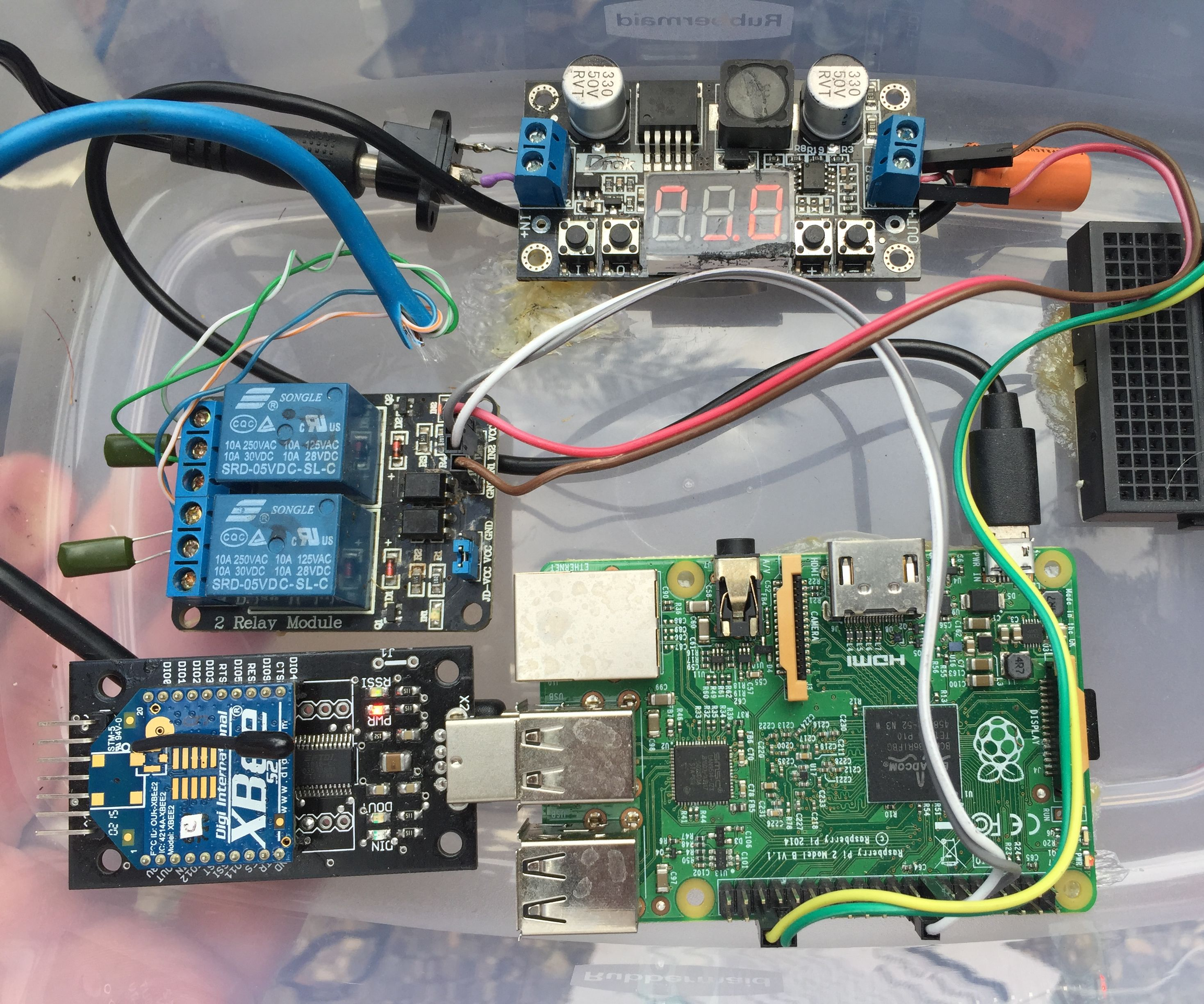 Pool Controller Using Raspberry Pi, Arduino and Xbee