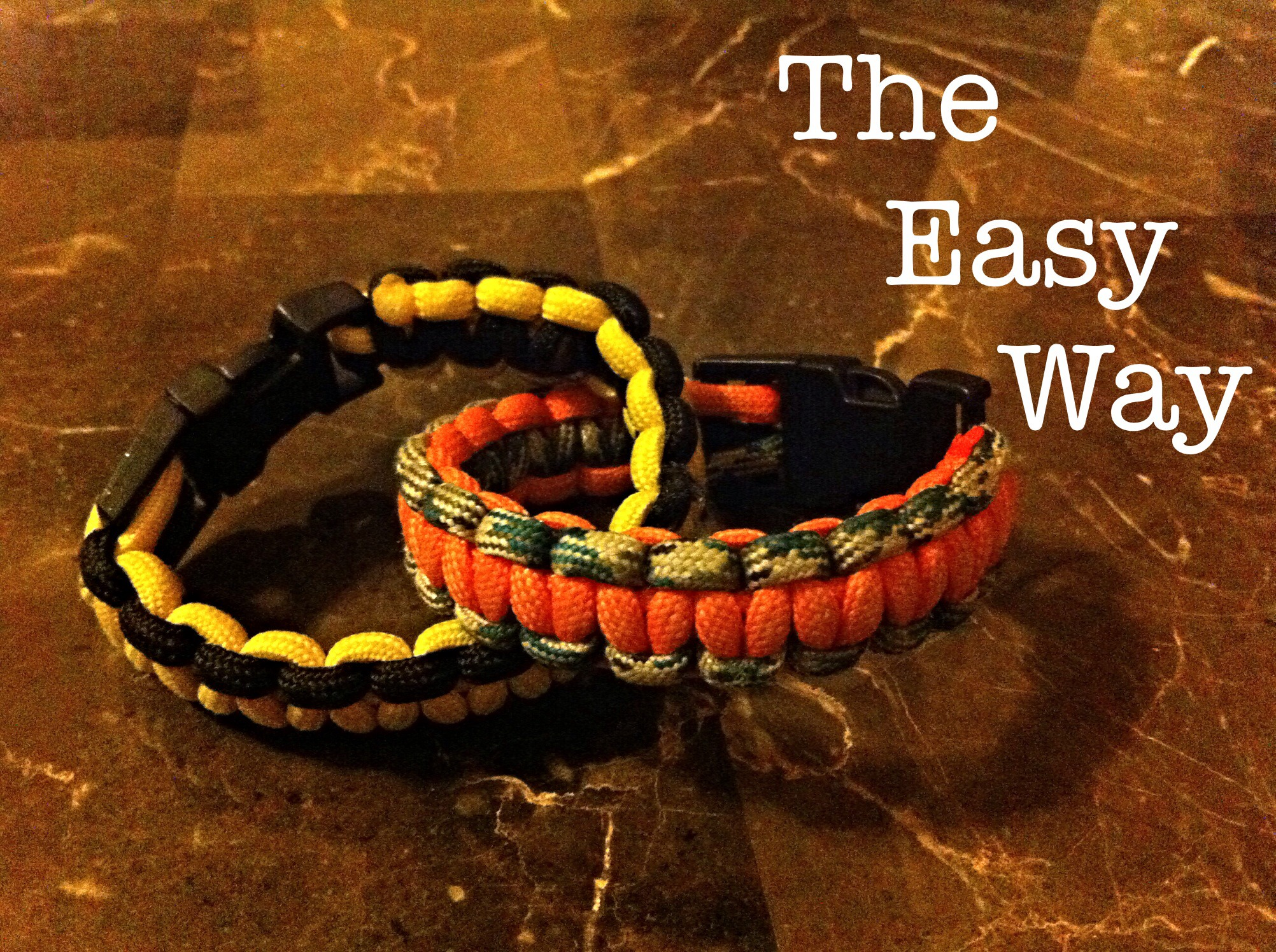 The Easiest Way On Putting On A Paracord Bracelet