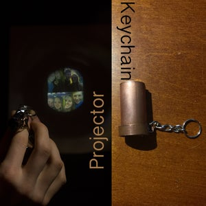 Keychain Projector From Disposable Camera