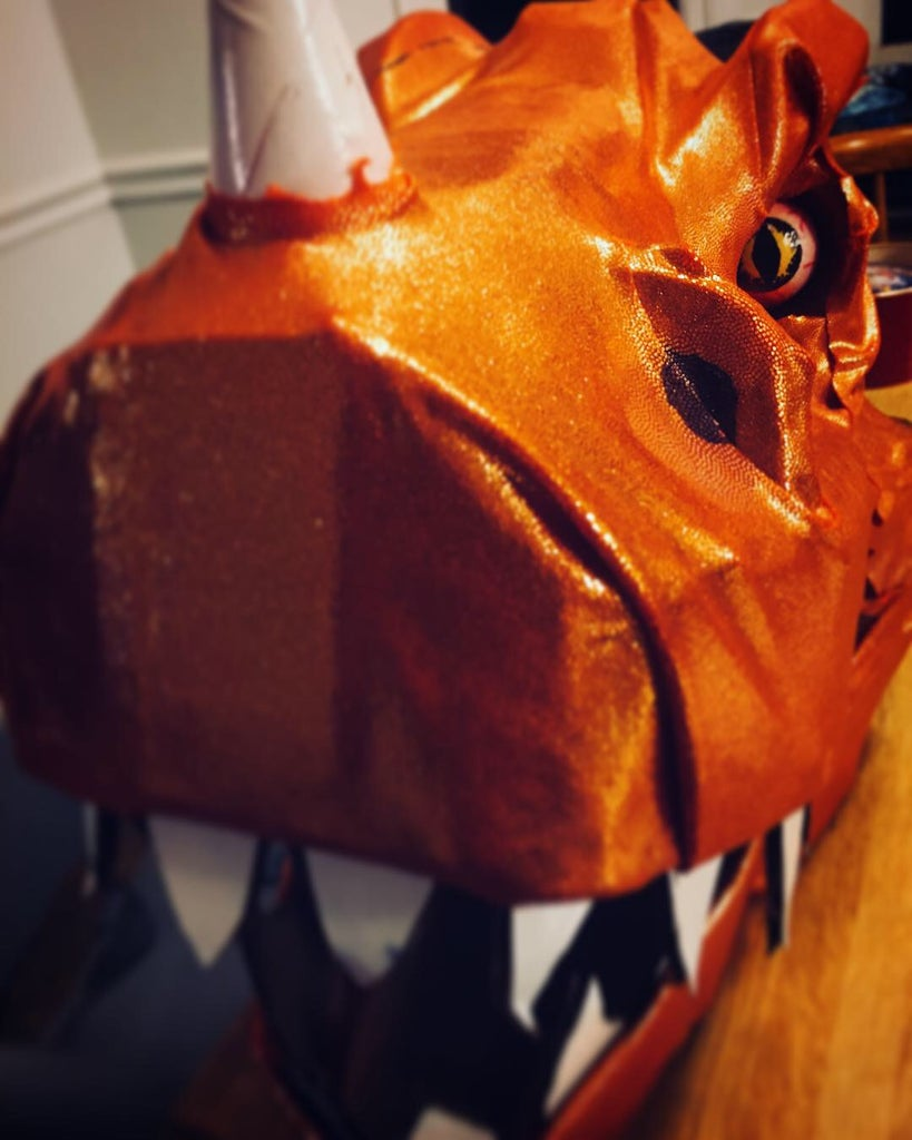 Sweet Ceratosaurus - Helmet Build
