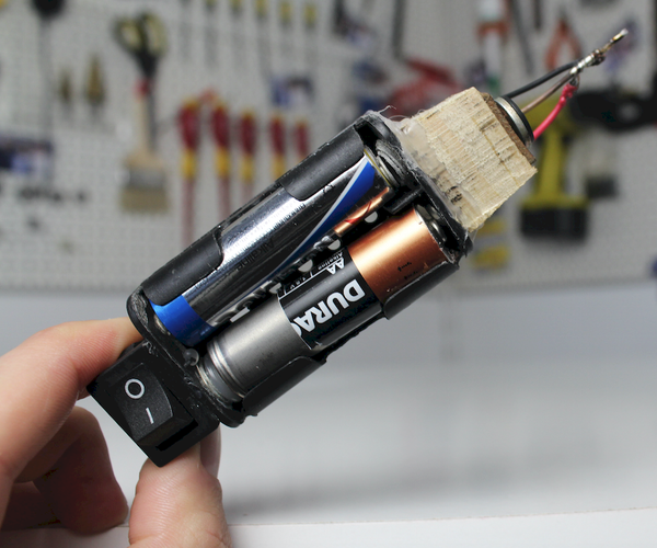How to Make a Mini Battery Powered Soldering Iron