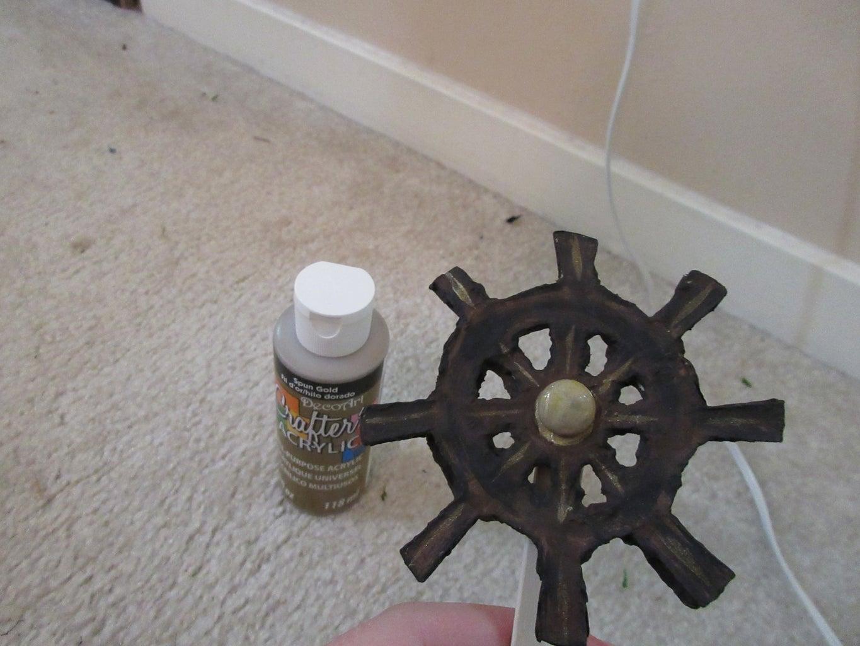 Make Mini Ship Steering Wheel