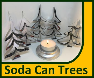Soda Can Trees