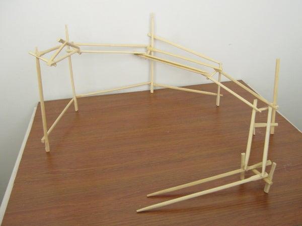 Chopstick Rollercoaster
