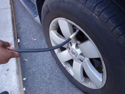 Keep Your Car Tires Filled.