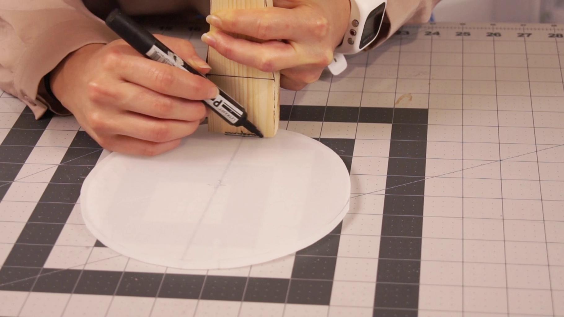 Create Slot for Backpiece on Acrylic