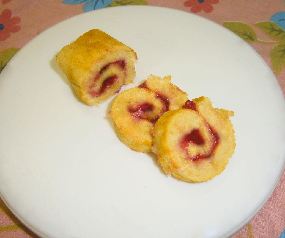 Vanilla Sponge Roll Cake (Egg-Less)