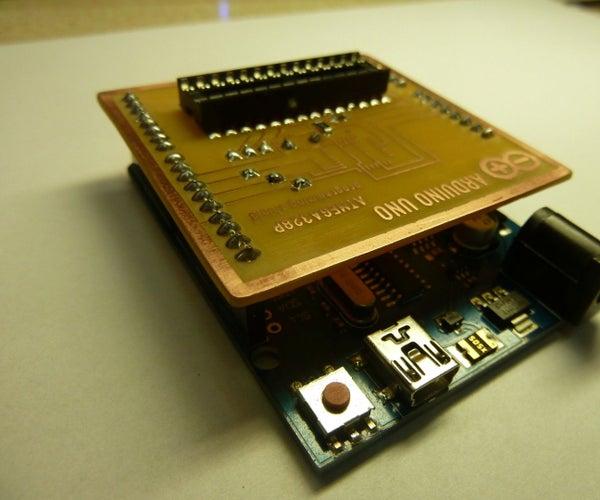ATMEGA328  Bootloader Programming Shield for Arduino Uno