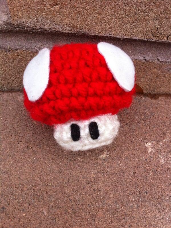 Crochet Mario Mushroom
