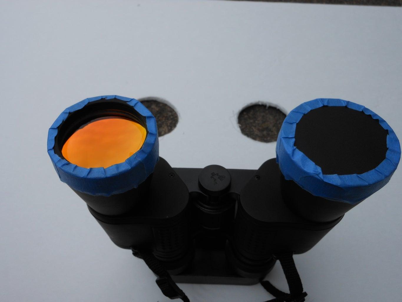 Attach the Binoculars