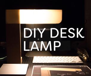 DIY Minimalist Desk Lamp