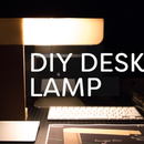 DIY Minimalist Desk Lamp
