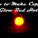 How to Make Copper Glow Red Hot with Acetone