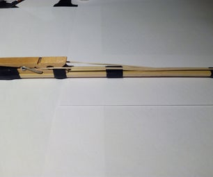 Simple Rubber Band Gun.