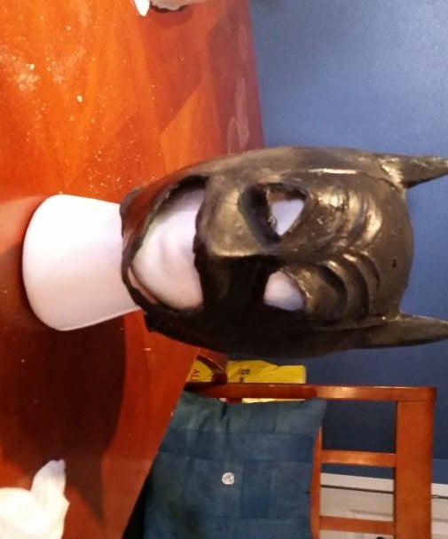 Latex Batman Mask