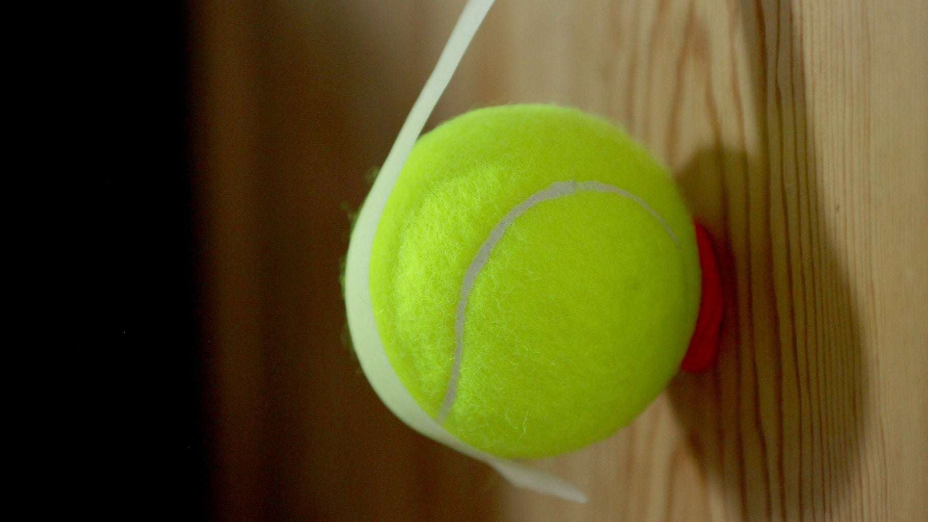 Secure the Tennis Balls With Tape