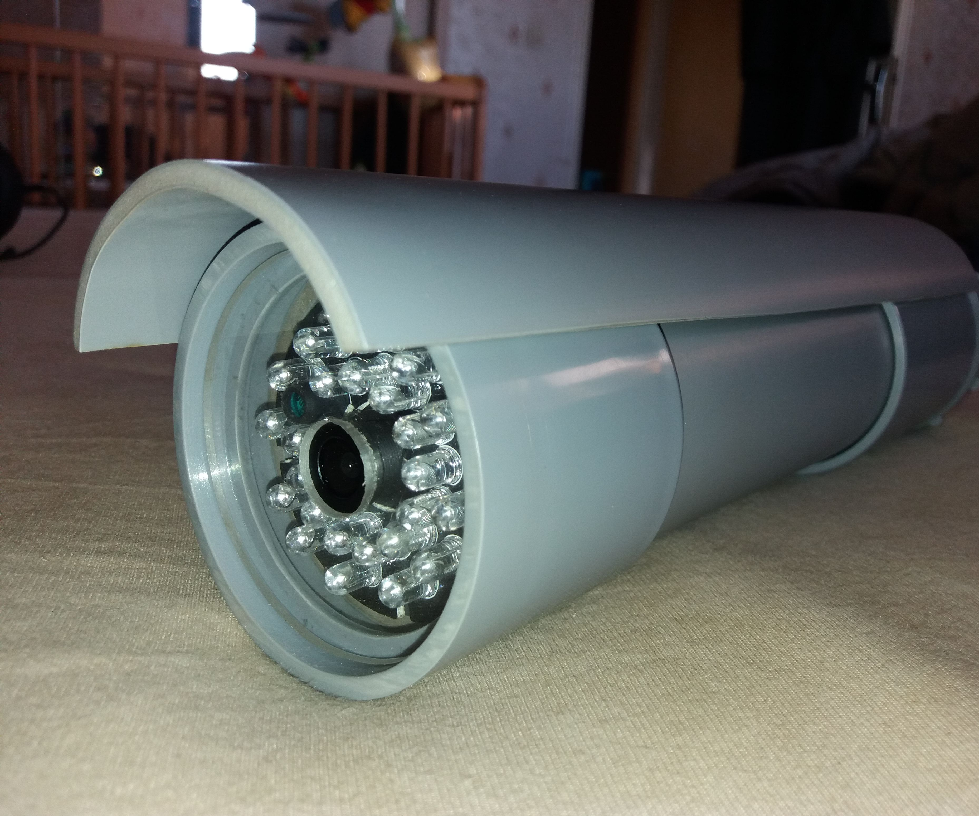 DIY Professional Open Source Night Vision Security Camera