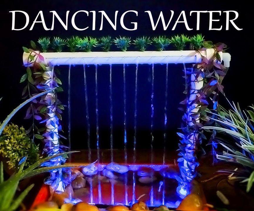 DIY Dancing Waterfall