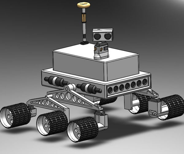 IR Controlled 3D Printed Rover (Arduino)
