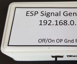 Browser Controlled Signal Generator