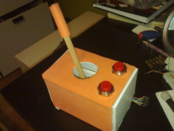 Cheap Working Homemade Arduino Joystick