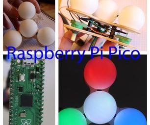 覆盆子pi pico颜色换色器。