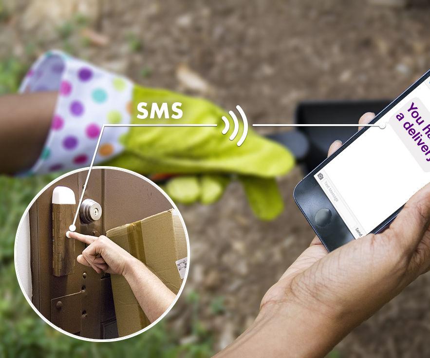 littleBits SMS Doorbell