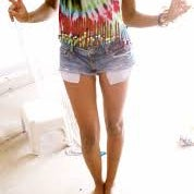 DIY Tie Dye Shirts With Food Coloring!