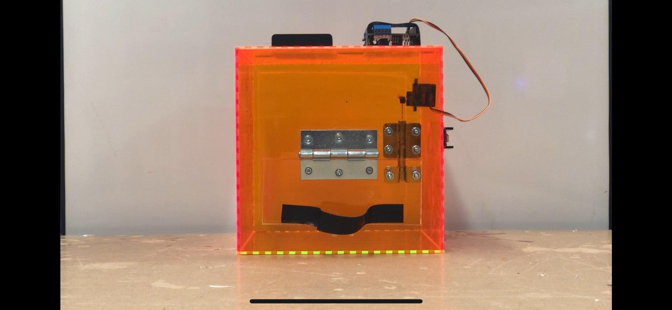 Robotic Lock Box