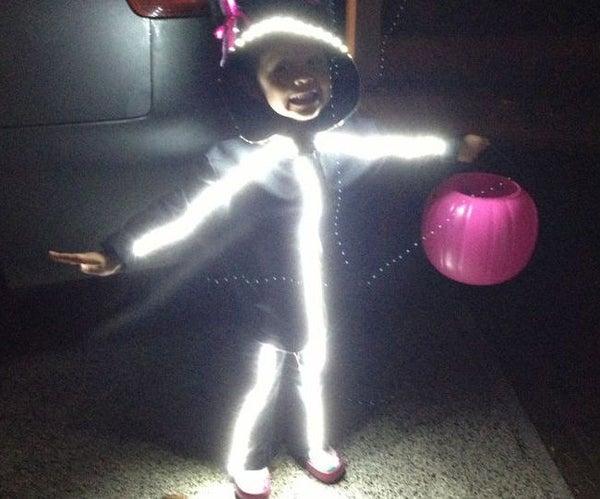 LED Stick Figure Costume