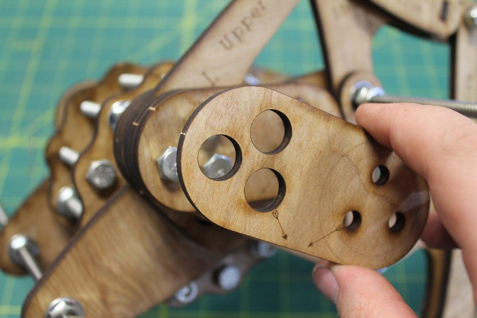 Building Out the Crankshaft