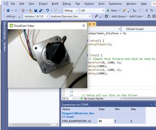 Arduino Sensor and Driver Calibration