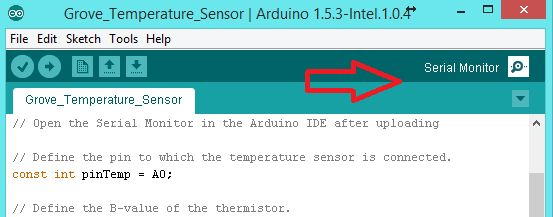 Viewing Sensor Results