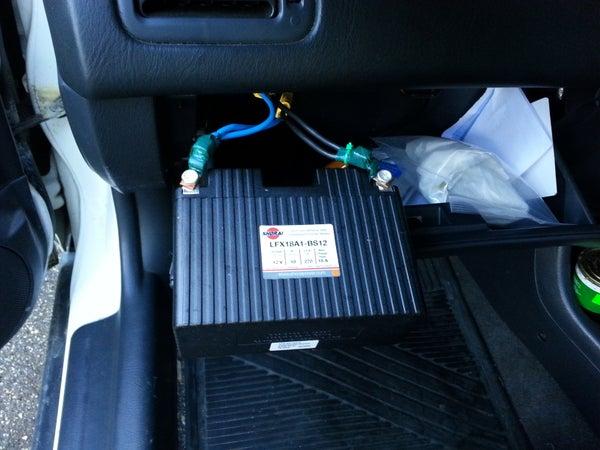 LiFePO4 Battery for Gasoline Engine Starting.