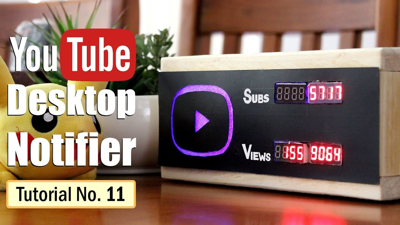 YouTube Subscriber Counter With ESP8266