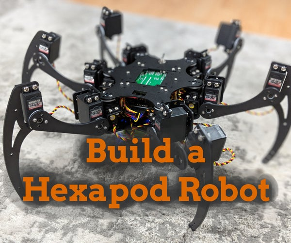 Capers II, a Hexapod Robot